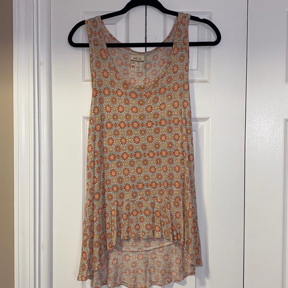 Matilda Jane Sleeveless Top With a Floral Design